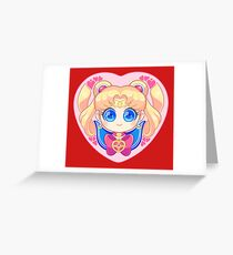 Sailor Moon Manga Greeting Card