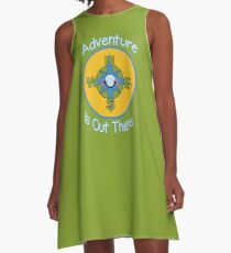 Adventure is Out There A-Line Dress