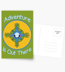 Adventure is Out There Postcards