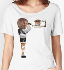 Smile Baby Wildlife Photographer Women's Relaxed Fit T-Shirt