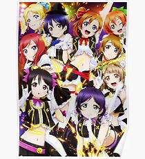 No Brand Girls Love Live Poster
