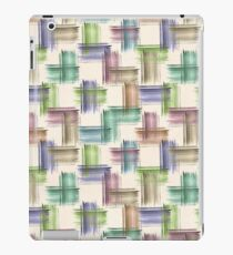 Watercolor brush strokes. iPad Case/Skin
