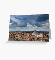 Tuscany Skies Greeting Card
