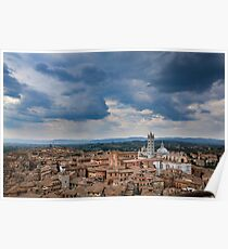 Tuscany Skies Poster