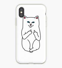 Nasty Cat iPhone Case