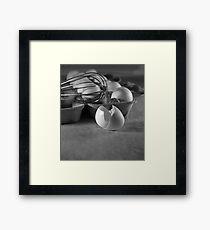 Egg Beater Framed Print