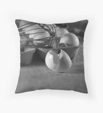 Egg Beater Throw Pillow