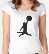 Air Cat Women's Fitted Scoop T-Shirt