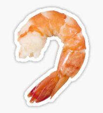 shrimp Sticker
