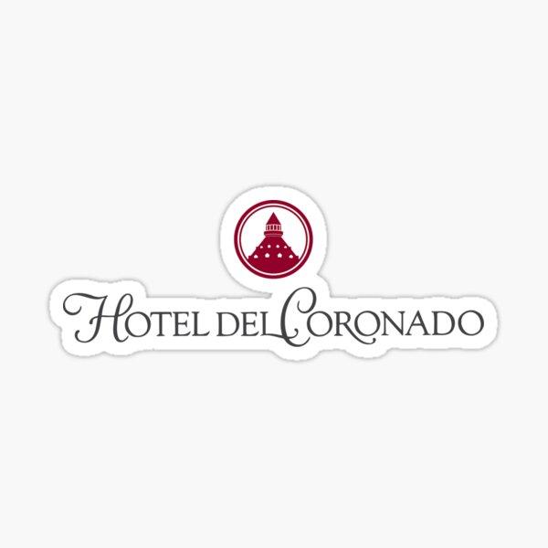 Hotel Del Coronado, Coronado, California Sticker