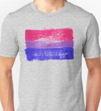 Camiseta ajustada Bisexual Pride Art