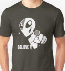 Alien Believe Space Sci Fi Unisex T-Shirt