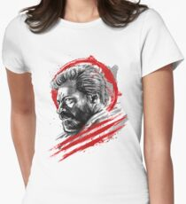 Sumi-e Logan Womens Fitted T-Shirt