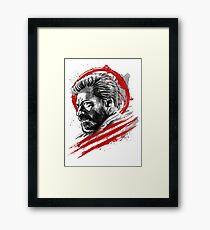 Sumi-e Logan Framed Print