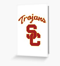 USC - University of Southern California Greeting Card