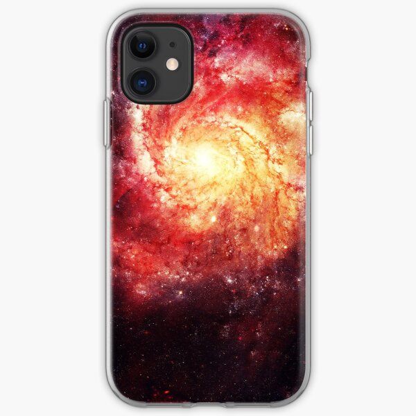 Deep Space Galaxy (Messier 101 Remix) iPhone Soft Case