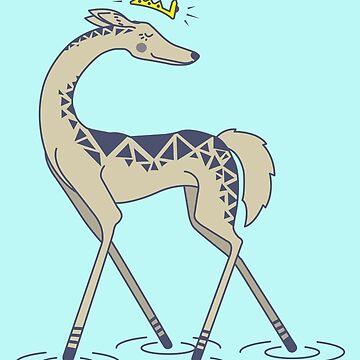 Crown Deer by GuyWithRedHair