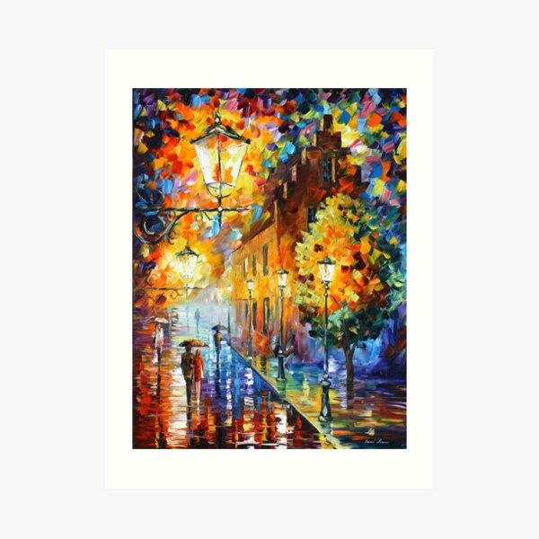 Lights In The Night - Leonid Afremov Art Print