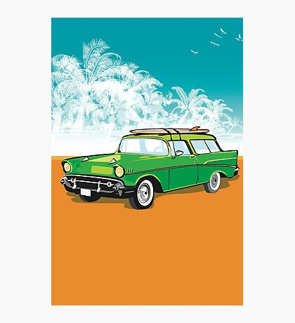 Old chevvy! Photographic Print