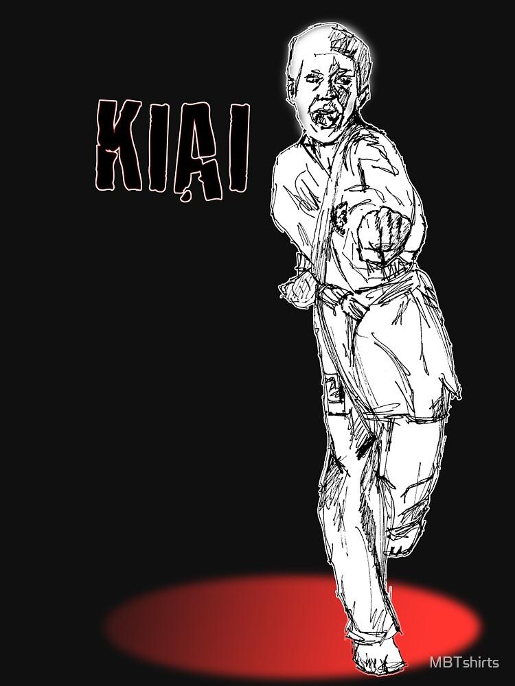 Chodan Tsuki by MBTshirts
