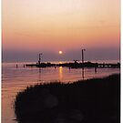 The Chesapeake from Cape Charles Va by harrypratt