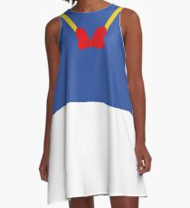 The Donald Duck Look A-Line Dress