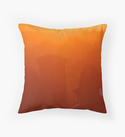 Luminous Lament Throw Pillow