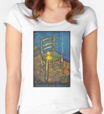 Vincent van Quack! Women's Fitted Scoop T-Shirt