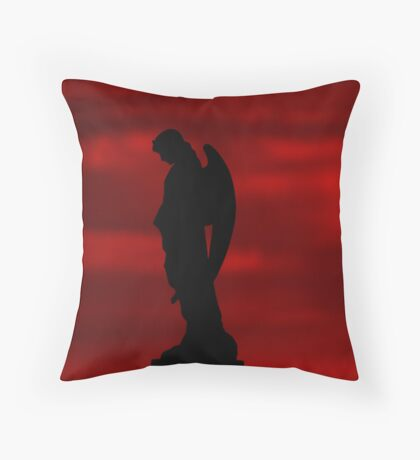 Arc Angel Throw Pillow
