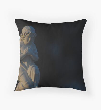A Cherub's Heart Ache Throw Pillow
