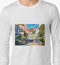 Sunny Germany - Leonid Afremov Long Sleeve T-Shirt