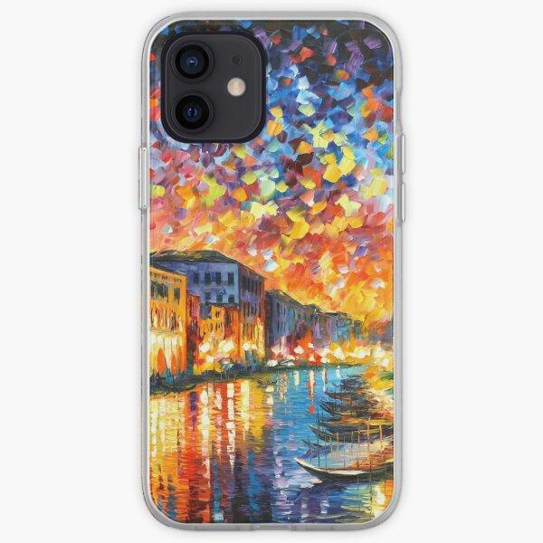 VENICE - GRAND CANAL - Leonid Afremov CITYSCAPE iPhone Soft Case