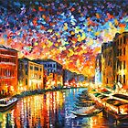 VENICE - GRAND CANAL - Leonid Afremov CITYSCAPE by Leonid Afremov