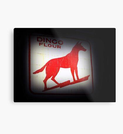 Dingo Flour Sign - Fremantle Western Australia  Metal Print