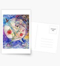 Das Geheimnis umarmen Postkarten