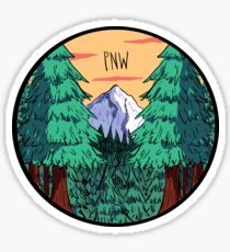 pnw rules Sticker