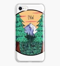 pnw rules iPhone Case/Skin