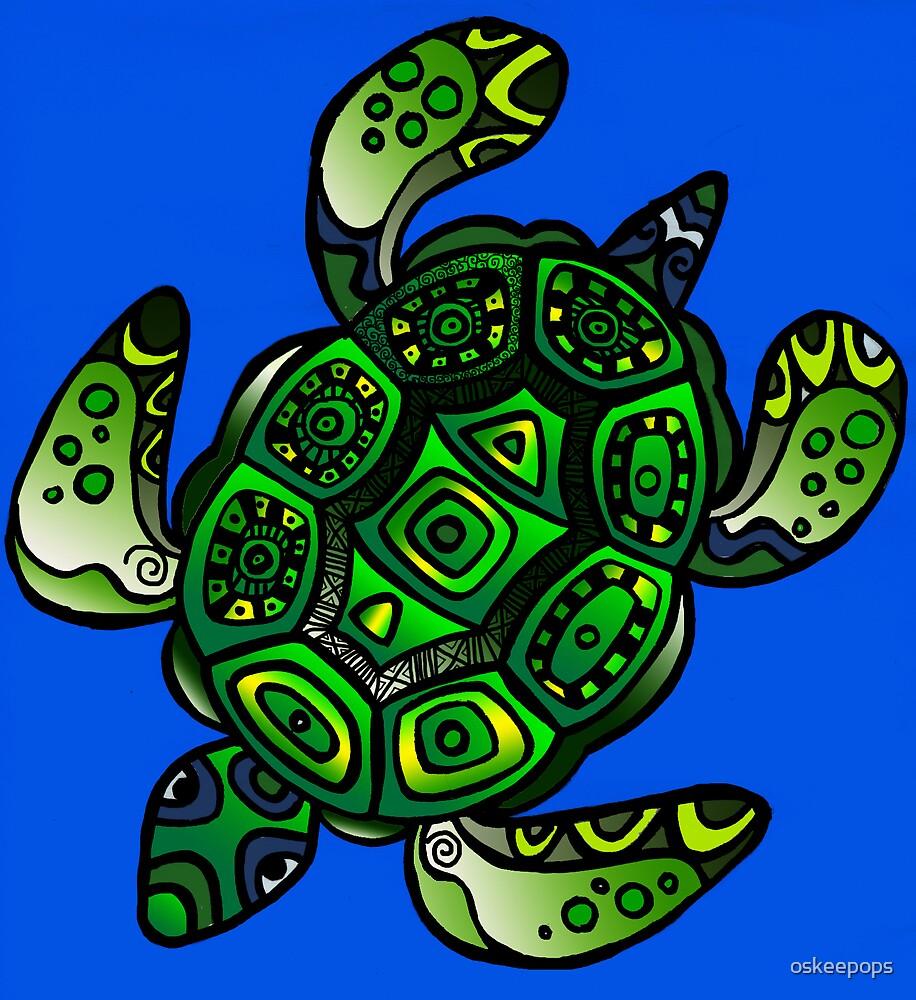 turtle by oskeepops