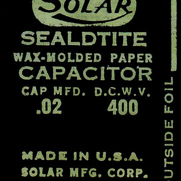 Solar Capacitor - Black by radiophile