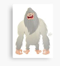 Yeti (new version) Metal Print