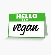 Vegan Greeting Card
