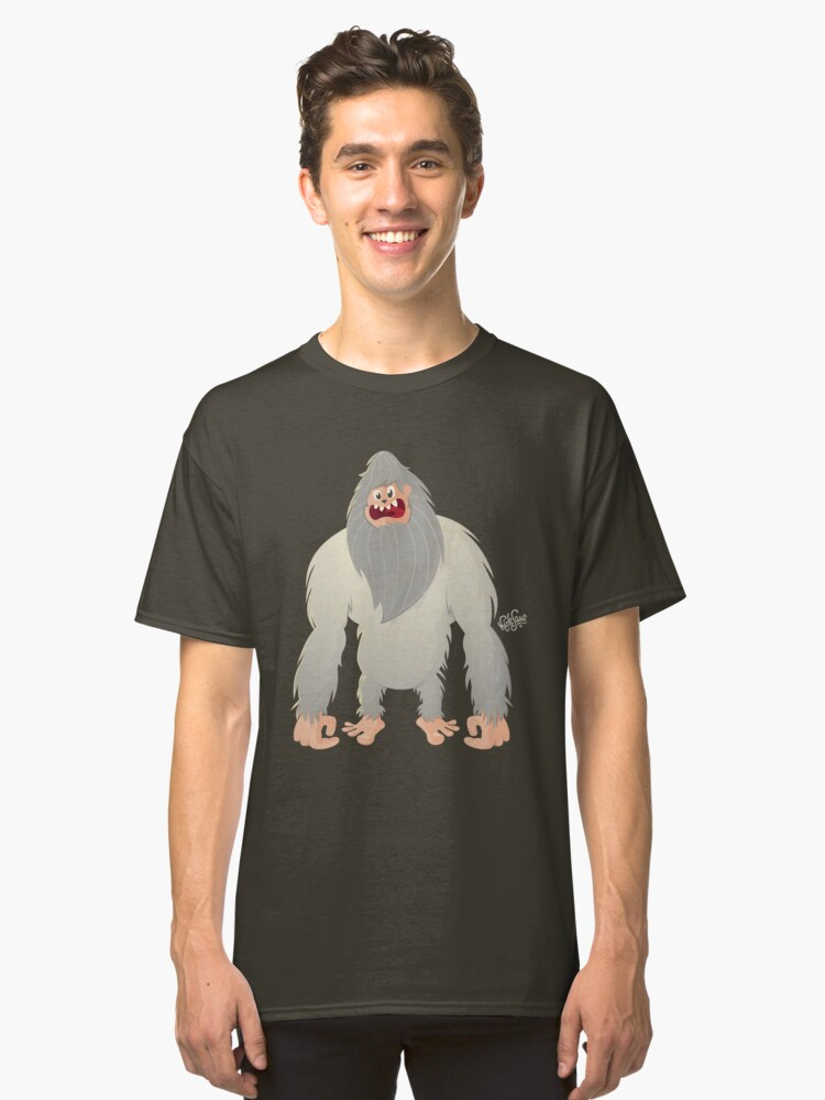 Yeti (new version) Classic T-Shirt Front