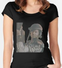 Bill Paxton - Hudson - Aliens Women's Fitted Scoop T-Shirt