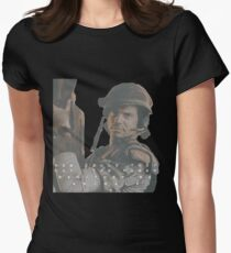 Bill Paxton - Hudson - Aliens Womens Fitted T-Shirt