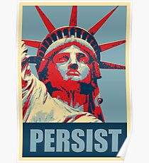 Nevertheless, she persisted (Womens March) Poster