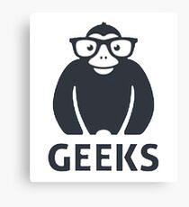 geeks Canvas Print