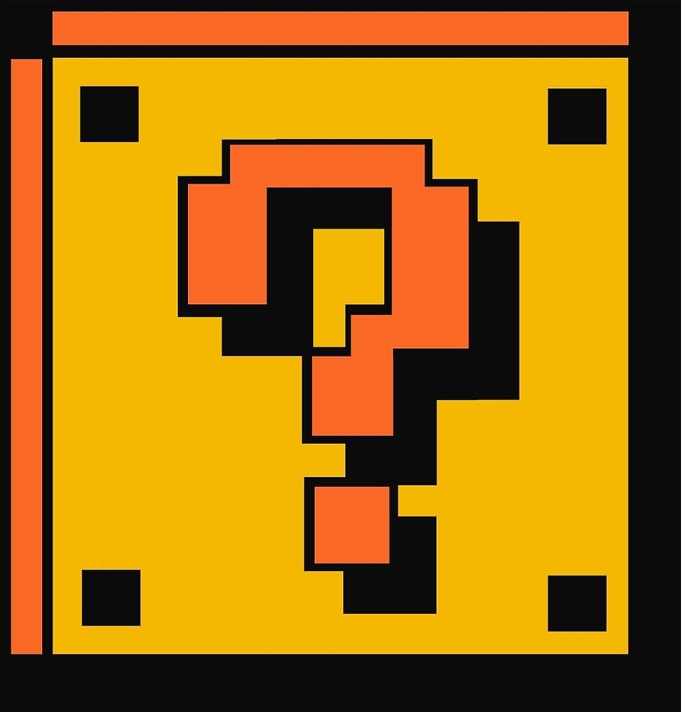 Mario Question Mark by Deelara