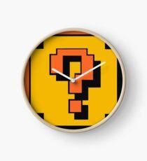 Mario Question Mark Clock
