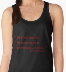 Charles Manson Quote Women's Tank Top