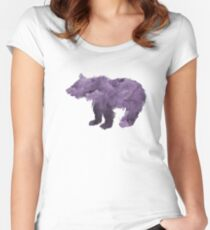 Bear Cub Women's Fitted Scoop T-Shirt